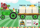 Tractor Express Articulation (F/V Sounds) (Boom Card) (Teletherapy)