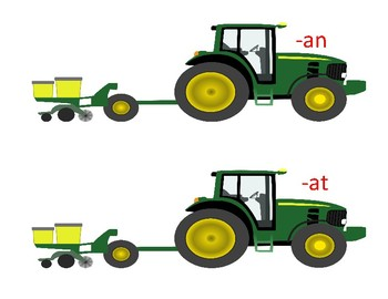 Tractor Rhyming Words