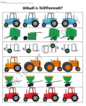 Letter T - Tractors Thematic Unit