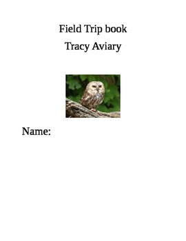 Tracy Aviary Field Trip Book