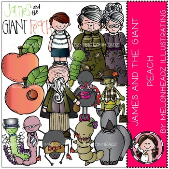 Tracy's James and the giant peach by Melonheadz COMBO PACK
