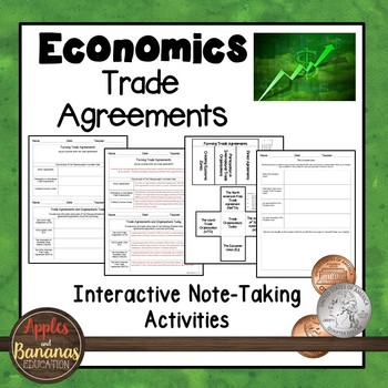 Trade Agreements - Interactive Note-taking Activities