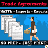 Trade Agreements - NAFTA, Imports, Exports