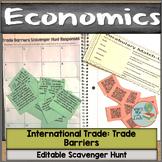 Trade Barriers Scavenger Hunt