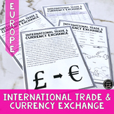 Trade & Currency Exchange in Europe Reading Activity (SS6E8, SS6E8c)