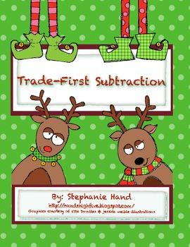 math worksheet : trade first subtraction worksheet by stephanie hand  tpt : Trade First Subtraction Worksheet