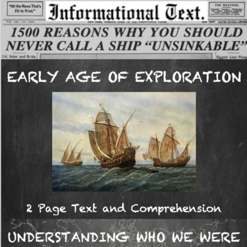 Age of Exploration--Trade routes and Technology