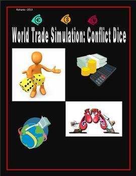 Trade Simulation - Smartboard: Conflict Page