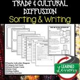 Trade and Cultural Diffusion Sorting and Writing Activity