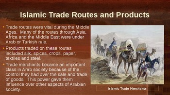 Trade and The Age of Exploration Powerpoint