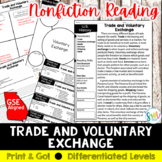 Trade and Voluntary Exchange Reading Activity (SS5E1, SS5E1d)