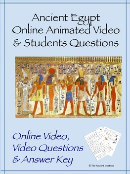 Ancient Egypt Animated Online Video & Student Questions