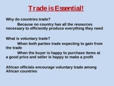 Trade is Essential! Africa 7th Grade GPS