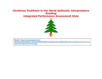 Tradiciones en el mundo authentic Spanish reading