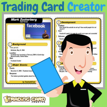 Trading Card Creator Guide & Activity