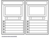 Trading Card Template (PDF or Google Drawing)