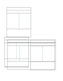 Trading Card blank template
