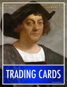 TRADING CARDS: Historical Character Biography Summaries