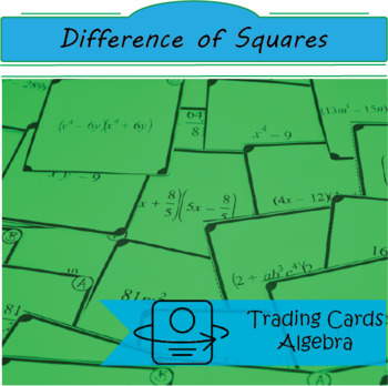 Trading Cards: Difference of Squares