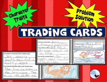 Trading Cards Activity Early Elementary Grades K-3