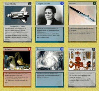 Trading Cards Sampler