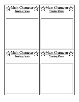 Trading Cards: Story Characters