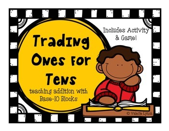 Trading Ones for Tens: Addition using Base-10 Blocks