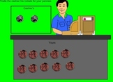 Trading Pennies for Nickels Smartboard Acitivity