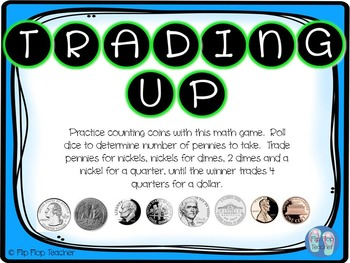 Trading Up - Coin Math Game