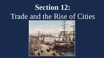 Trading and the Rise of Cities in Colonial Era PowerPoint