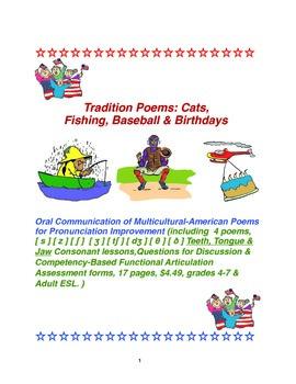 Tradition Poems: Cats, Fishing, Baseball & Birthdays