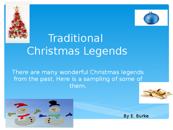 Traditional Christmas Legends
