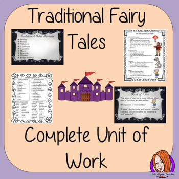 Traditional Fairy Tales Complete Unit of Work