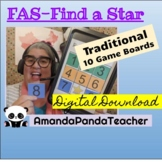 Traditional Find A Star-FAS (10 game boards)