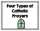 Traditional Four Types of Catholic Prayers Bundle