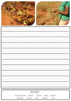 Traditional Indigenous Australian (Aboriginal) Bush Food Writing Prompts