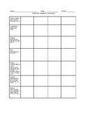 Traditional Literature Comparison Chart