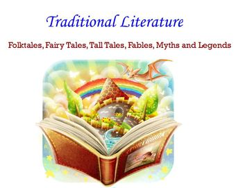 Traditional Literature Elementary Flipchart for ActivInspire