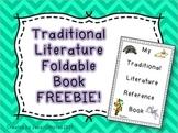 Traditional Literature Foldable Book FREEBIE!