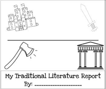 Traditional Literature/Folktale Flip Book