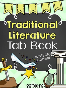 Traditional Literature Folktales Interactive Tab Book with