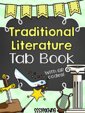Traditional Literature Folktales Interactive Tab Book with QR Codes