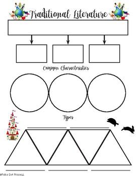 Traditional Literature Graphic Organizer
