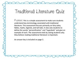 Traditional Literature Quiz