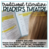 Traditional Literature Reader's Theater BUNDLE: 7 Scripts