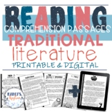 Traditional Literature Reading Comprehension Passages & qu