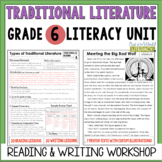 Traditional Literature Reading & Writing Unit Grade 6: 2nd