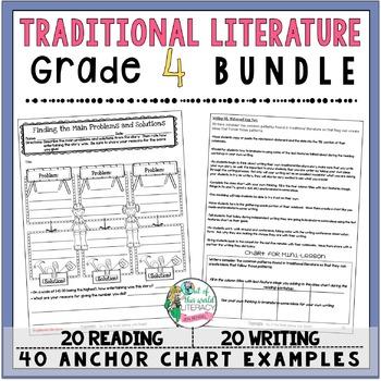 Traditional Literature Unit of Study: Grade 4 BUNDLE