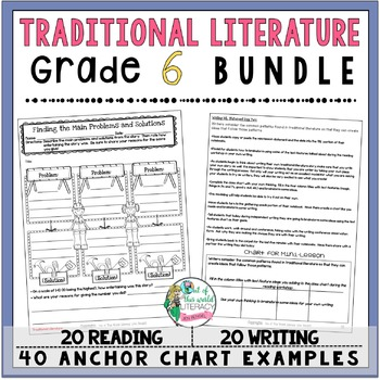 Traditional Literature Unit of Study: Grade 6 BUNDLE