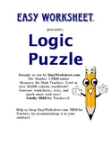 Traditional Logic Puzzle--Improve critical thinking and lo